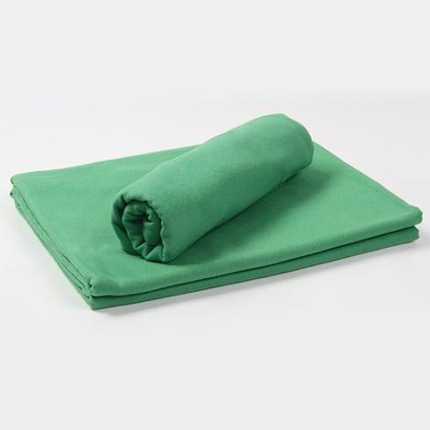Funkčný uterák a osuška zelená
