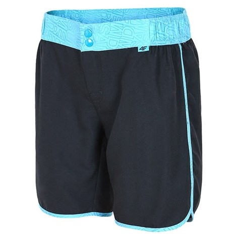 Dámske športové šortky čierne