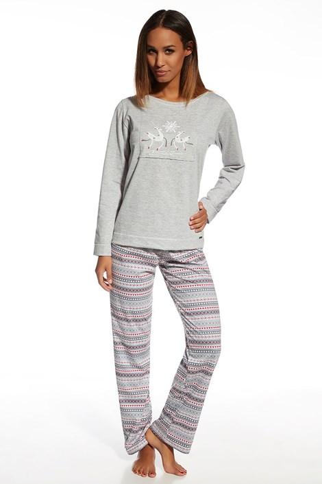 Dámske bavlnené pyžamo Snowflake