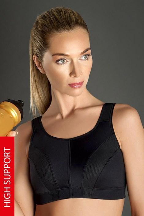 Športová podprsenka Thermo Cool Active - čierna