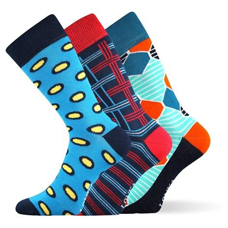3pack módnych ponožiek Woodoo MixE