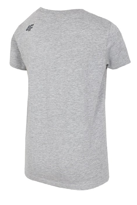 Detské bavlnené tričko Grey 4f