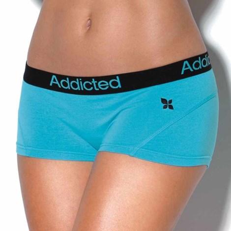 Boxerky Addicted modré