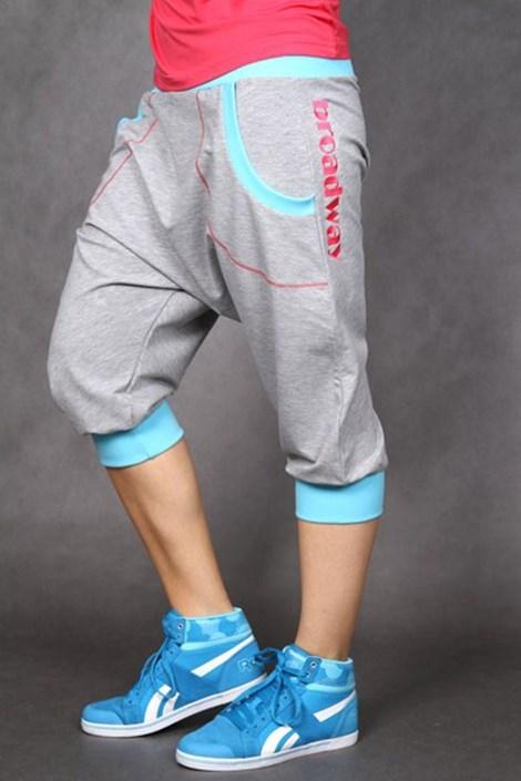 Športové nohavice Electric grey