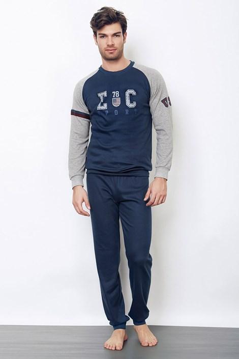 Štýlové pánske pyžamo Pietro