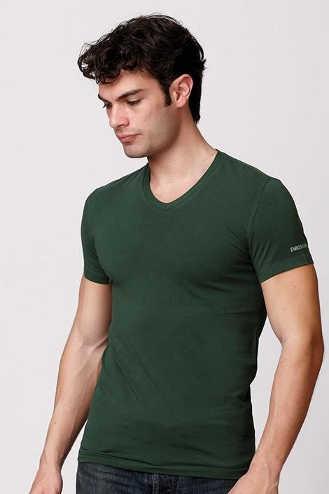 Pánske talianske tričko Enrico Coveri ET1501 bavlnené