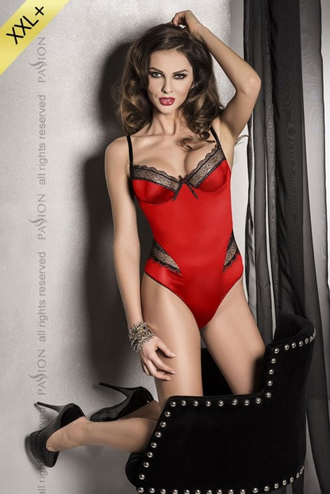 Luxusné erotické body Evane Red