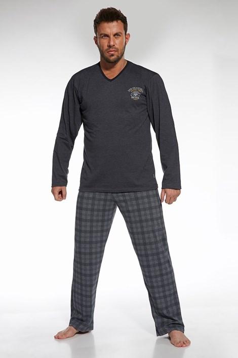 Pánske bavlnené pyžamo Forest 2