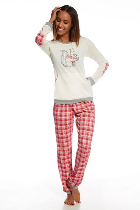 Dámske bavlnené pyžamo Nuts