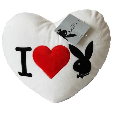 Vankúšik Heart Bunny White