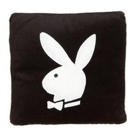 Vankúšik Square1 Bunny black