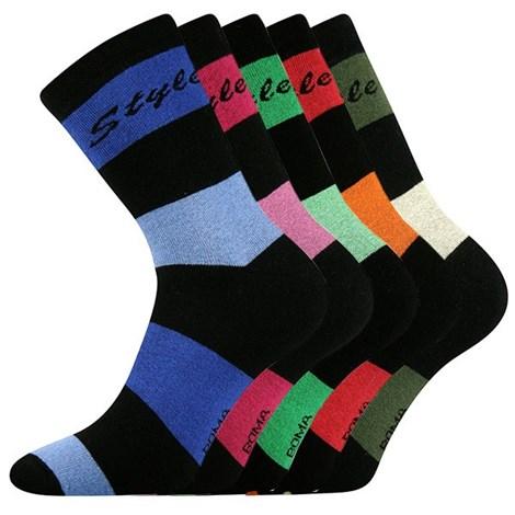 5 pack ponožiek Pruh