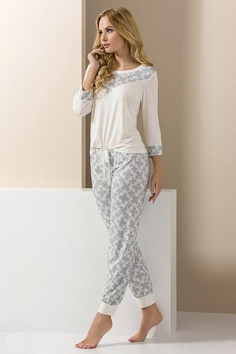 Elegantné dámske pyžamo Carol dlhé