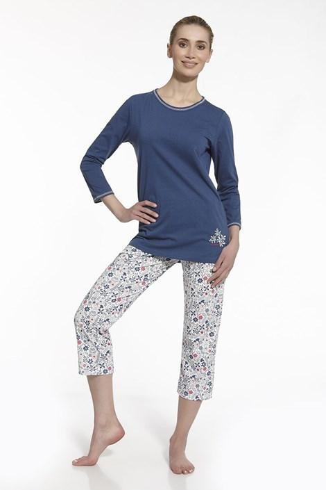Dámske pyžamo Sara modré