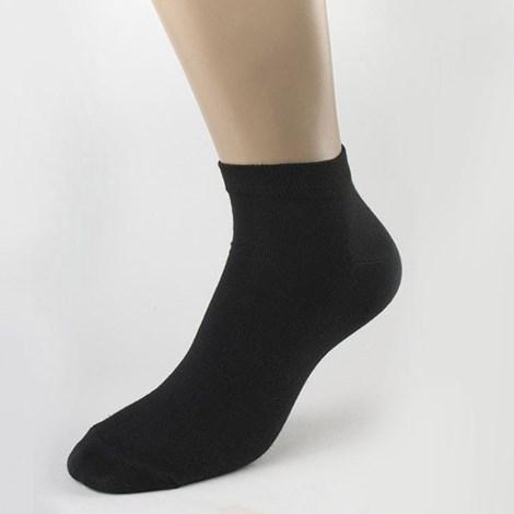 Pánske krátke ponožky bambusové čierne