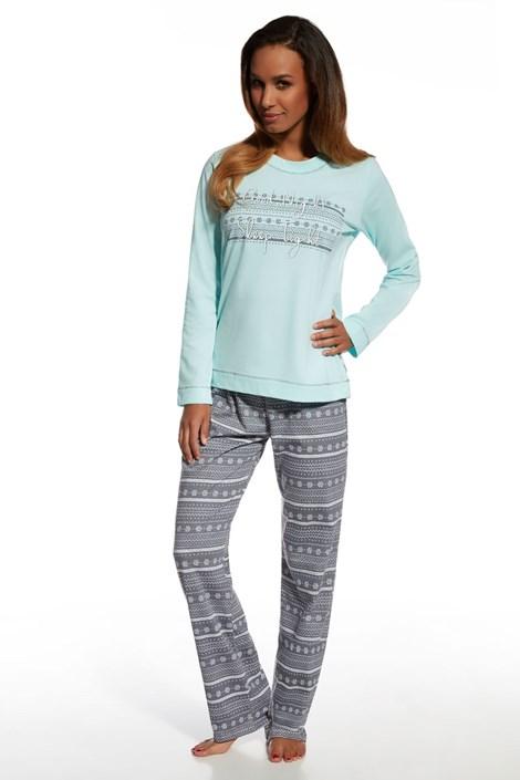 Dámske bavlnené pyžamo Stars 3