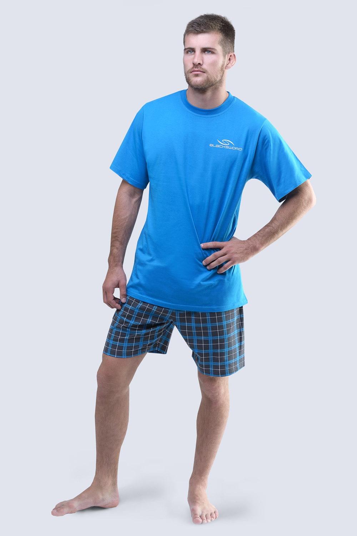 Pánske pyžamo Blacksword modré