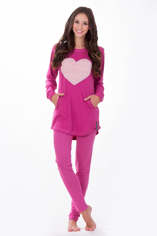 Dámske talianske pyžamo Big Heart