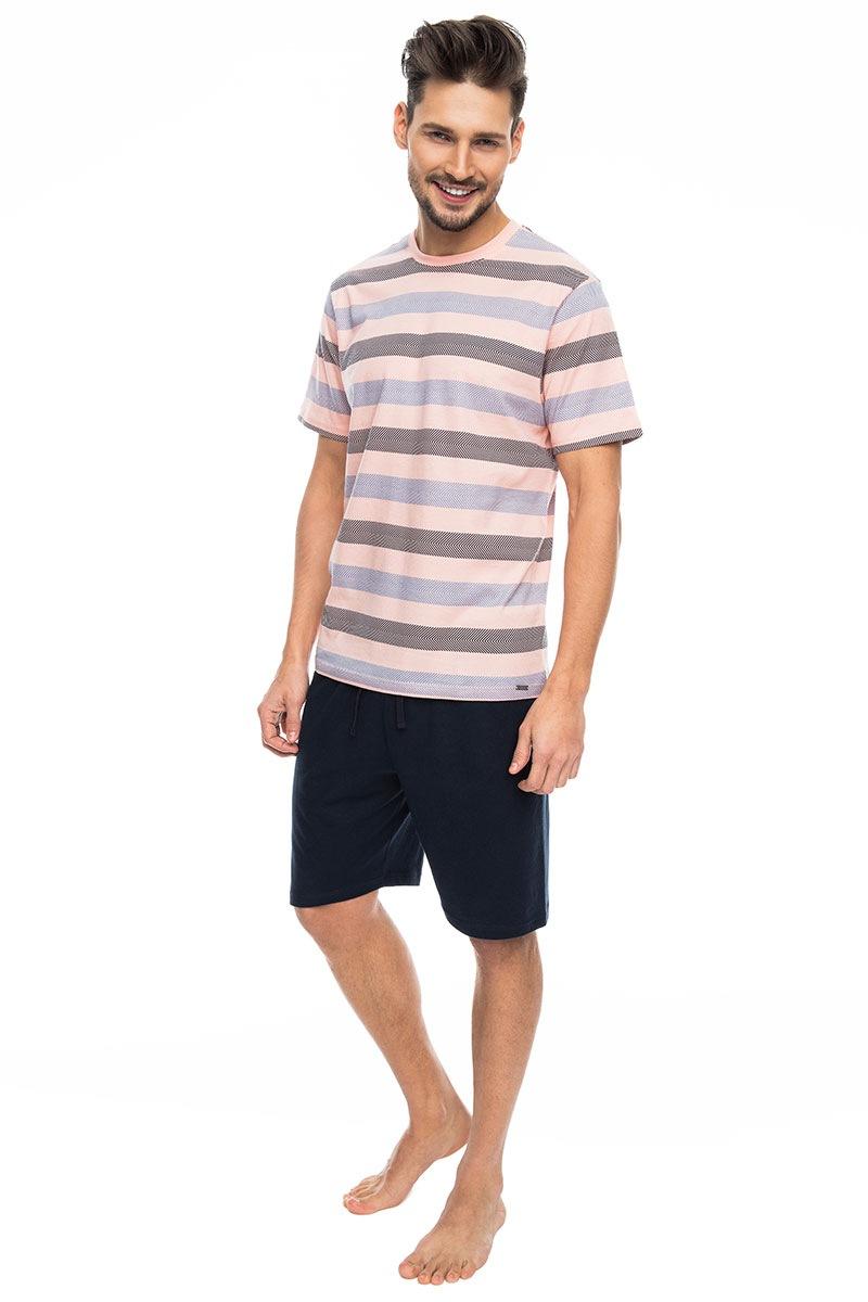 Pánske pyžamo Pink stripes