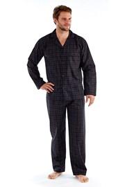 Pánske pyžamo Harvey Black Check Long