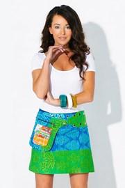 Obojstranná sukňa Sau Paulo ručnej výroby zo 100% bavlny