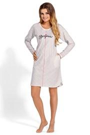 Dámska bavlnená nočná košeľa Bonjours