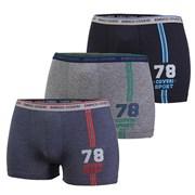 3pack chlapčenských boxeriek EB4046