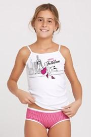 Detský set nohavičiek a tielka Marika Pink
