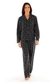 Dámske fleecové pyžamo Jennifer Black