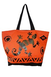 Plážová taška Acapulco Black gekko