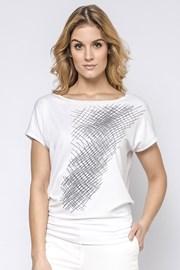 Dámske elegantné tričko Hettie s krátkymi rukávmi