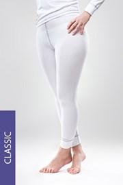 Termo nohavice Classic – biele