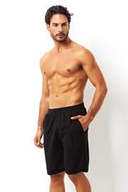 Pánske bavlnené šortky čierne