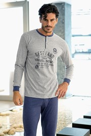 Pánske talianske pyžamo Leon