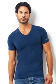 Pánske talianske tričko Enrico Coveri 1501 Oceano