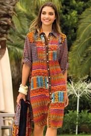 Dámske letné košeľové šaty Laura z kolekcie Iconique