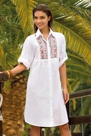 Dámske letné košeľové šaty Noemi bavlnené z kolekcie Iconique