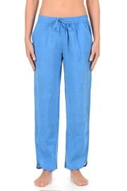 Dámske ľanové nohavice Sherie Blue z kolekcie Iconique