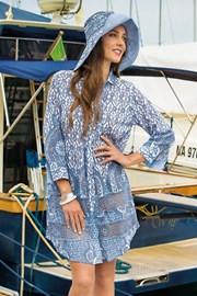 Dámske plážové košeľové šaty Tracy