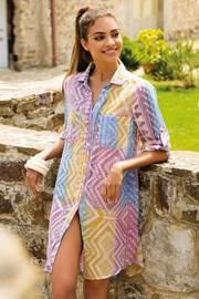 Dámske letné košeľové šaty Anna bavlnené z kolekcie Iconique