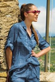 Dámske letné košeľové šaty Ilaria