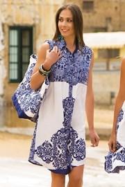 Dámske letné košeľové šaty Selma z kolekcie Iconique