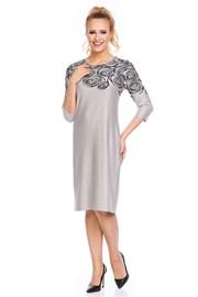Dámske elegantné šaty Livia Beige