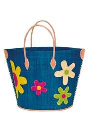 Plážová taška Majunga Rita Turquoise veľká