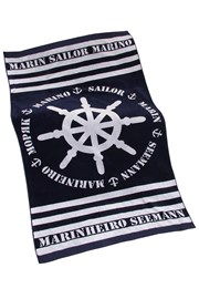 Plážová osuška Marine
