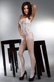 Bodystocking Orrienne - biely