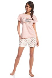 Dámske pyžamo Provence ružové