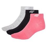 Dámske športové členkové ponožky 4f 3pack