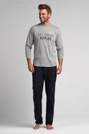 Pánske pyžamo Sam grey