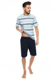 Pánske pyžamo Blue stripes
